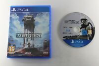 PLAY STATION 4 PS4 STAR WARS BATTLEFRONT COMPLETO PAL ESPAÑA