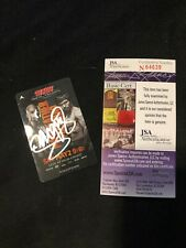 Manny Pacquiao Signed MGM Grand Room Key for Floyd Mayweather Fight JSA #N64639
