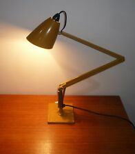 VINTAGE RETRO PLANET DESK LAMP STUDIO MODEL K COLOR MUSTARD