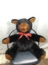 "LUXURY/RARE GENUINE USA MINK FUR FULL SKINS MADE TEDDY BEAR 16 "" TALL FREE SHIPG"