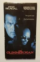 The Glimmer Man VHS Featuring Steven Seagal (1997 Warner Bros)