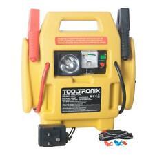 ToolTronix 4-In-1 Car Jump Starter Battery Booster Air Compressor Light Power