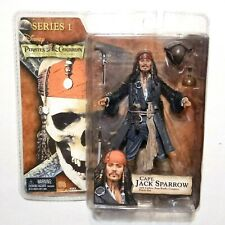"""Pirates of the Caribbean: Jack Sparrow 'Smile' 7"""" Action Figure NECA Series 1"""