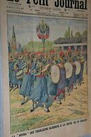 La Nouba revue du 14 juillet / Le Petit Journal sup illustré N°1183/ 20 -7- 1913