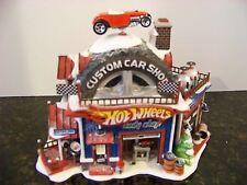Dept 56North Pole Village Hot Wheels Custom Car Shop 56.56784 - Retired