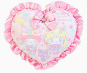 Sanrio My melody X Sailor Moon Collaboration Cute Heart Cushion Pillow Limited