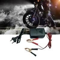12V 1A Car Battery Maintainer Smart Charger Portable Auto Motorcycle E3D9 Z2Z7