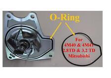 Mitsubishi pompe à eau 4M40 4M41 2.8TD 3.3 di-d comprend genuine o-ring