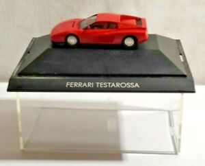HERPA 1:87 SCALE FERRARI TESTAROSSA - RED - CASED