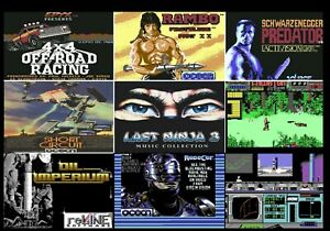 C64 Micro-Gamestick mit  (556x C64 Spielen) Originale .D64 )für C64 Mini oder PC