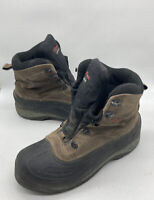 Columbia Cascadian Summit 2 Mens Insulated Boots Sz12 Water Resistant BM1226 255