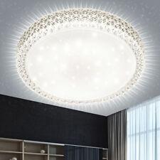 Plafonnier DEL 24 watts luminaire plafond lampe LED salle à manger cristaux ciel
