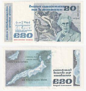 Ireland £20 Banknote (1983) BYB ref: E149 - EF.