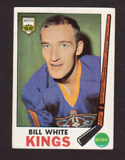 Bill White Los Angeles Kings 1969-70 Topps Hockey Card #101 EX