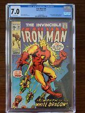 Iron Man #39 CGC 7.0 (Marvel 1971)  Avengers appearance!
