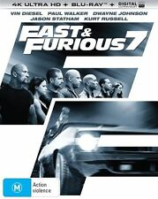 Fast & Furious 7 (Blu-ray, 2017, 2-Disc Set)
