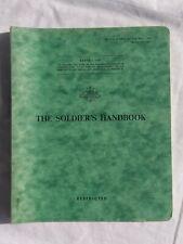 Australian Vietnam era 'The Soldier's Handbook'. 1965. Official Government book.
