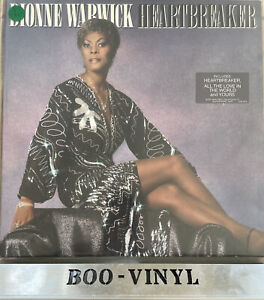 Dionne Warwick: Heartbreaker - Original 1982 Vinyl LP EX / EX CON