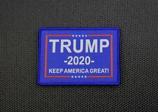 TRUMP 2020 KEEP AMERICA GREAT Woven Morale Patch MAGA GOP VELCRO® Brand
