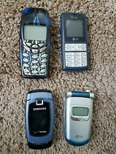 lot of cellphones for parts. They may just need charging/battery