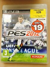 PES 2012  Konami PS3 Games