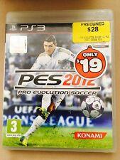 PES 2012  Konami PS3 Games