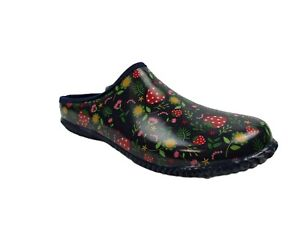 Western Chief Women's Garden Strawberries Red Mules Clogs Size 10 US