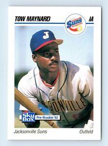 1992 SkyBox AA Tow Maynard Jacksonville Suns #155