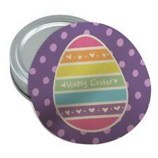 Cute Rainbow Happy Easter Egg Round Rubber Non-Slip Jar Gripper Lid Opener