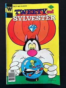 TWEETY AND SYLVESTER #72 WHITMAN COMICS 1977 VF-