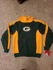 NFL Team Apparel Nike Youth Large Green Bay Packers Pullover Hoodie