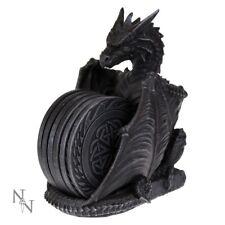 Conjunto DE POSAVASOS Dragones guarida con seis Manteles diseñado Celta Gótico 16.5 Cm