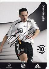 Oliver Neuville DFB Autogrammkarte 2006 TOP  +A38990 D