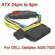 ATX 24pin to 8pin Power Supply Cable 18AWG for DELL Optiplex 3020 7020 9020 L60