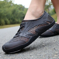 Men Beach Sandals Shower Water Shoes Swim Pool Shoes Comfort Breathable Slipper