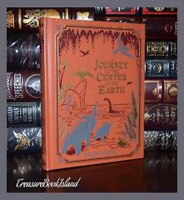 Journey to the Center of the Earth by Jules Verne New Sealed Leather Bound Gift