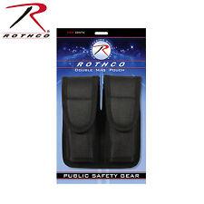 Rothco 20572 Enhanced Molded Dual Magazine Pouch - Black