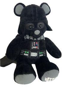 "Star Wars Darth Vader Build A Bear Teddy Bear Plush 18"" Stuffed Animal BAB    AA"