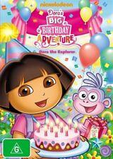 Dora The Explorer- Dora's Big Birthday Adventure (DVD, 2010)