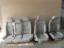 Audi A4 S4 8E B6 Limo Sitze Recaro Ausstattung Sitzausstattung elek Leder Silber