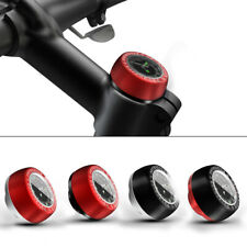 1PC Outdoor Bike Bicycle Headset Vehicle Clock Top Cap Stem Cover Watch Cycling