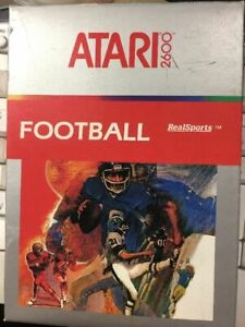 Atari 2600 Video Game Football