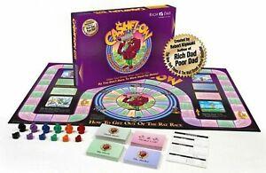 Rich Dad Cashflow 101 Rat Race Board Game Robert Kiyosaki Full Set FREE SHIP!