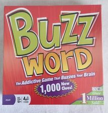 2010 BuzzWord Party Game Sealed , Patch Products Crease On Box Sealed