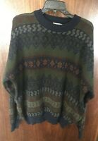 Vintage 80s 90s The Men's Store At Sears Pullover Sweater XXL Retro Cosby Style