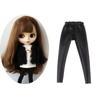 Stylish Black Skinny Pants Clothes for Blythe Licca Pullip Causal Outfit
