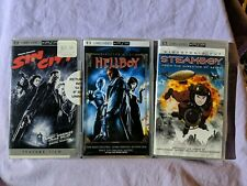 UMD Movie Lof of 4 Sony PSP Steamboy Sin City (Spiderman 2 - Disc ONLY) Hellboy