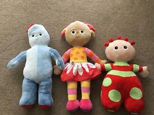 In The Night Garden Large Plush Toy Dolls x 3