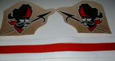 CFL OTTAWA ROUGH RIDERS FULL SIZE FOOTBALL DECALS