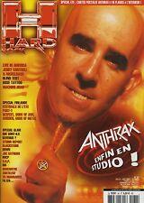 Hard-Rock Magazine France 2002 Anthrax Scott Ian Down Dio Satriani